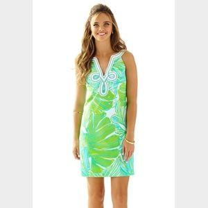 NEW Lilly Pulitzer Tessa Shift V neck Dress 068